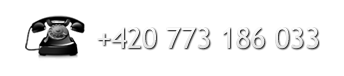 Telefon: +420 773 186 033
